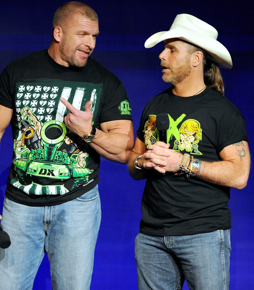 Mickie James and DX | Shawn michaels, Mickie james