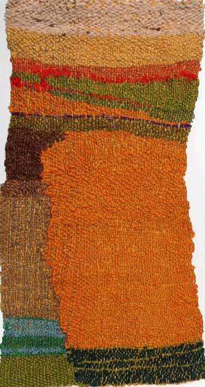 Minimes: Small Woven Works by Shelia Hicks.