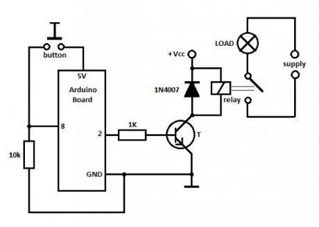 electronic relay basiccircuit circuit diagram seekiccom data set u2022 rh latour co