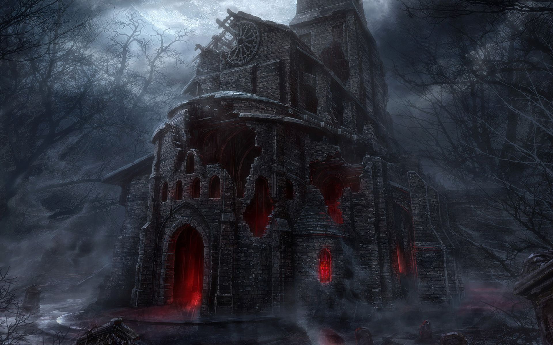 Dark Castle Wallpaper Gothic Wallpaper Scary Houses Scary Wallpaper