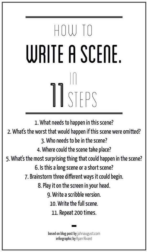 11 step scene how to