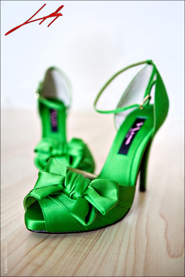 Green Shoes Perhaps For A Wedding