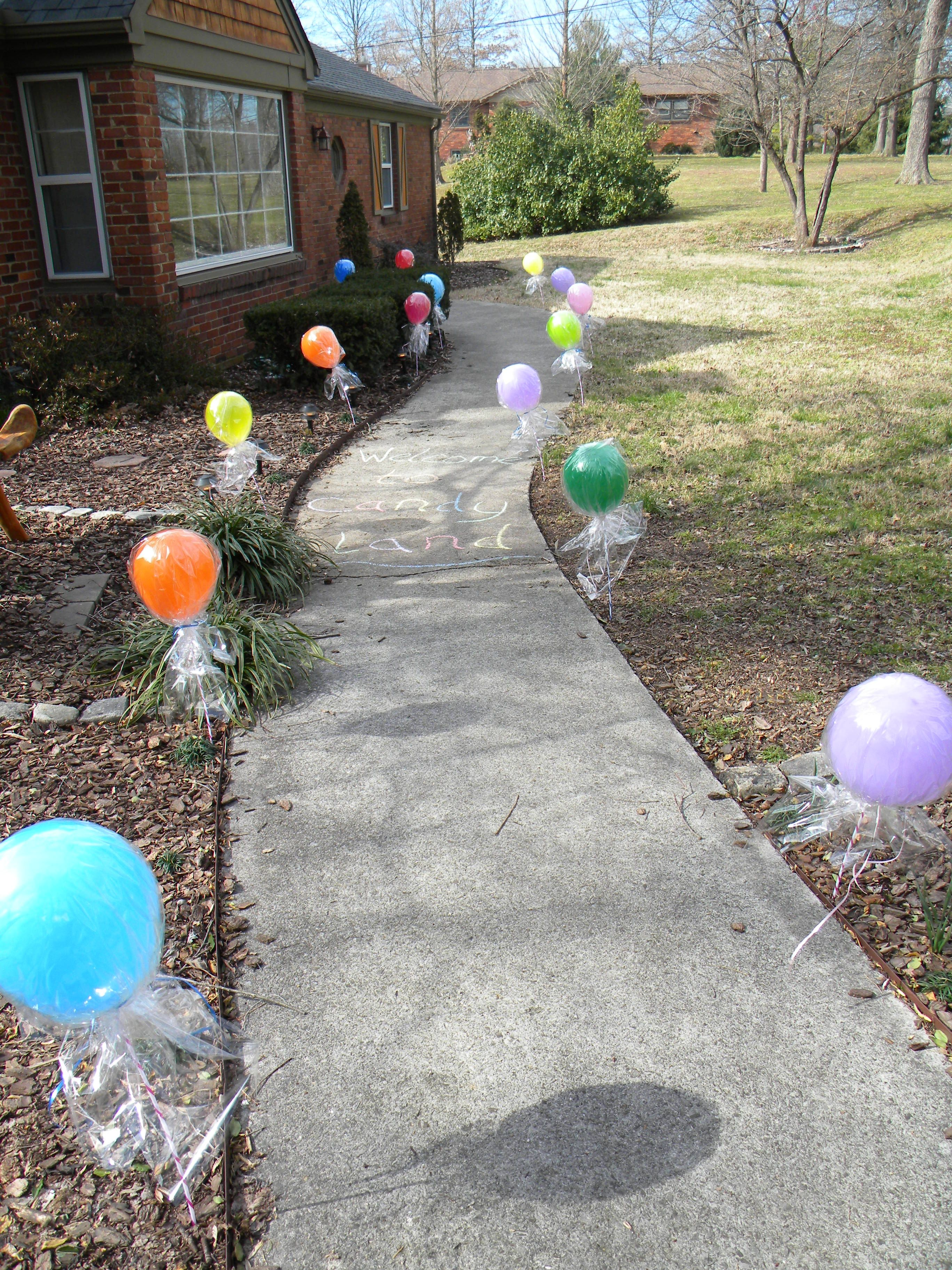 Lollipop Balloons