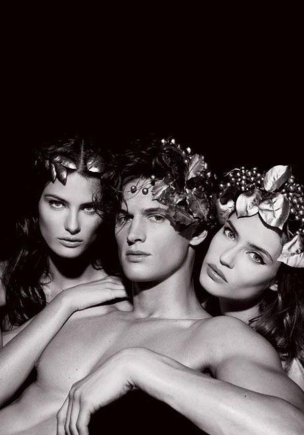 photo by Karl Lagerfeld, Pirelli Calendar, 2011.