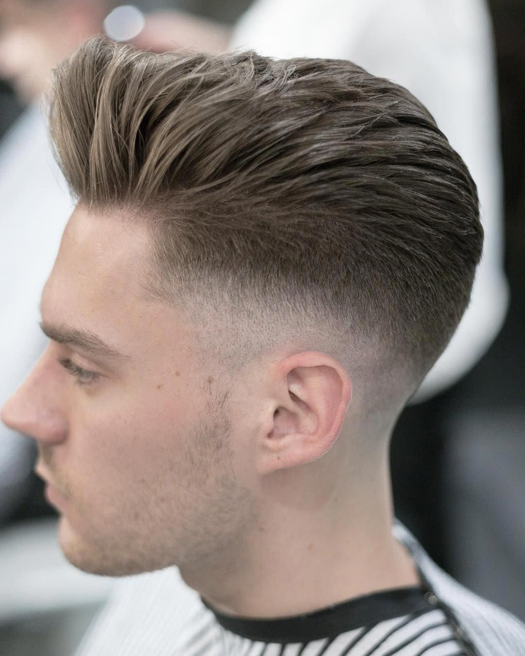 The Pomp Is A Classic Mens Hairstyle That Never Goes Out Of Style