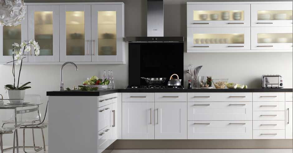 Contemporary White Shaker Kitchen Kitchen Design 2013 Is About Geing Creative With Styles