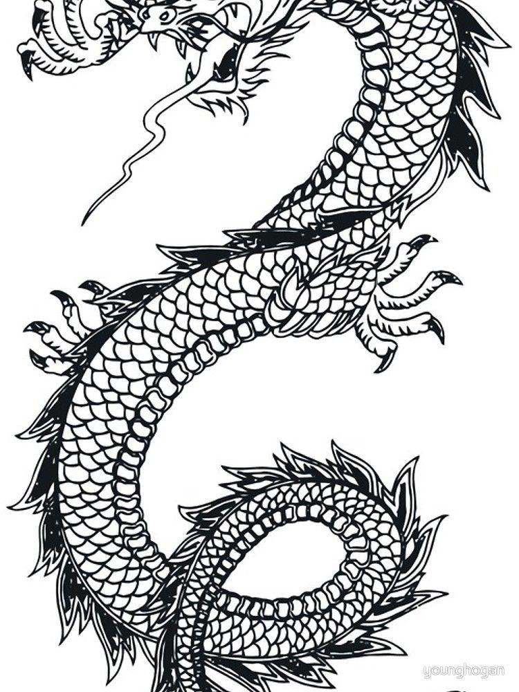 Dragon Sticker 2 X 4 Redbubble Dragon Tattoo Meaning Picture Tattoos Japanese Tattoo