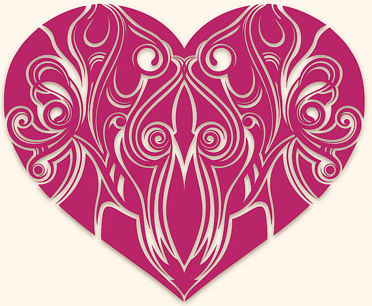 3000  Free Heart Clip Art Images: Free Heart Clip Art at 123Freevectors
