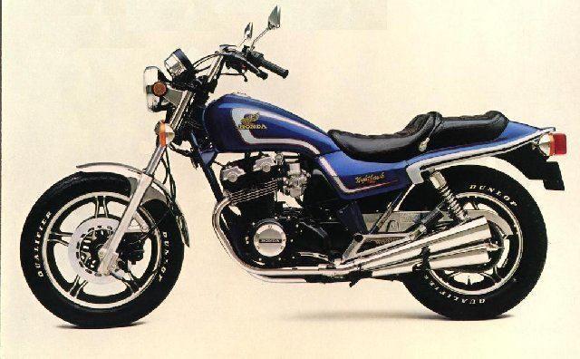 Honda 750 Nighthawk fully restored