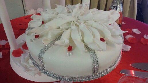 Strass weddingcake