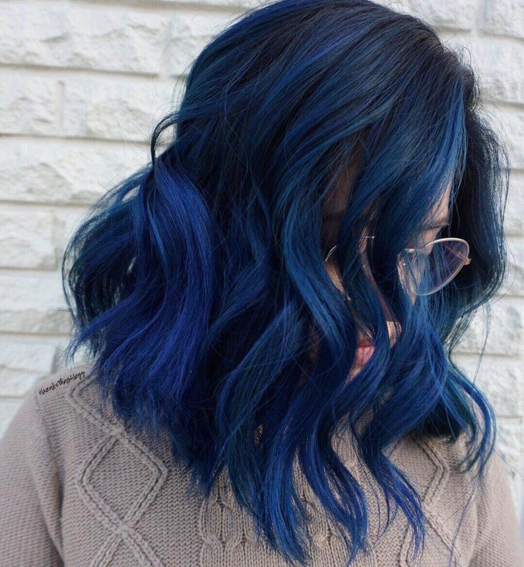 Liz Hair Baltimore On Instagram Blue Dream Balayaged