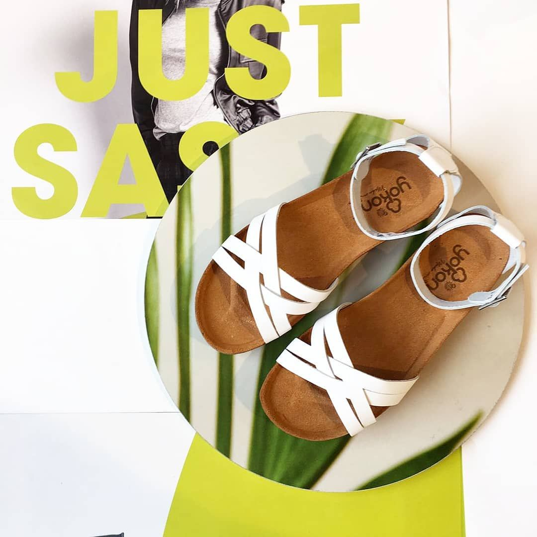 Yokono Nowosc W Naszym Sklepie W Kolorze Bialym I Turkusowym Yokono Sandals Summershoes Espanashoes Whiteleather Newcollection2018 Shoes Sandals