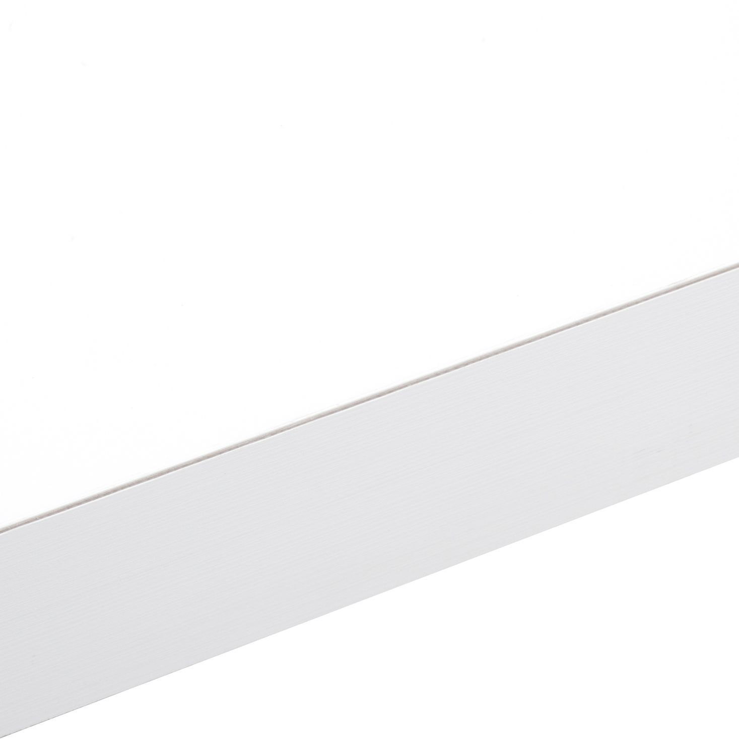 50mm B&Q Designer White (Aeon) Square Edge Kitchen Worktop (L)3m (D ...