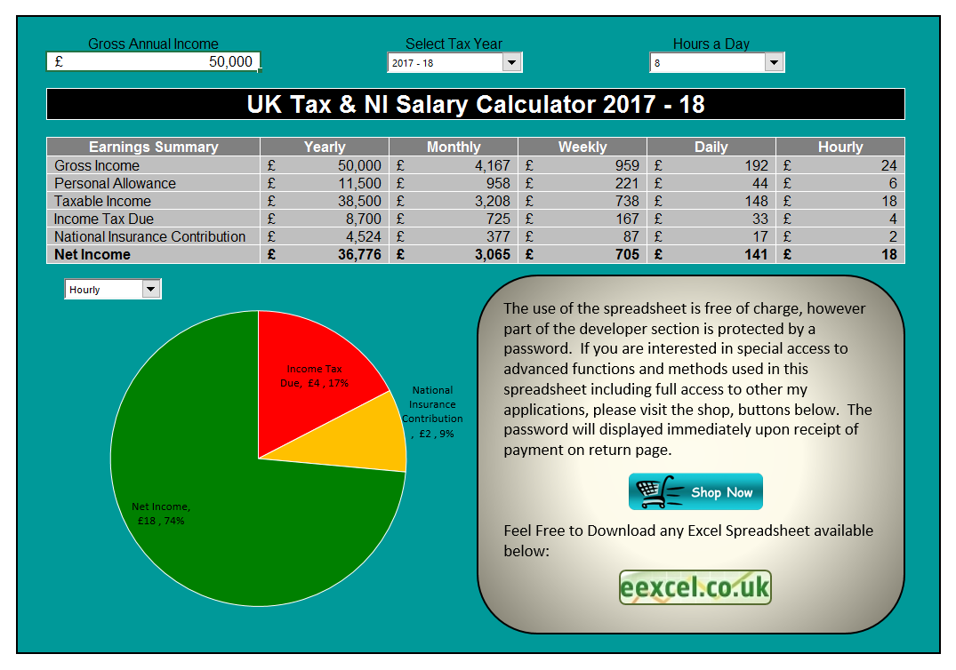 13 Net Salary Calculator Templates Salary Calculator Payroll