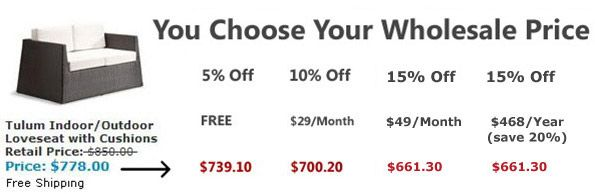 Like being able to choose the price! #Furniture #Discount ...