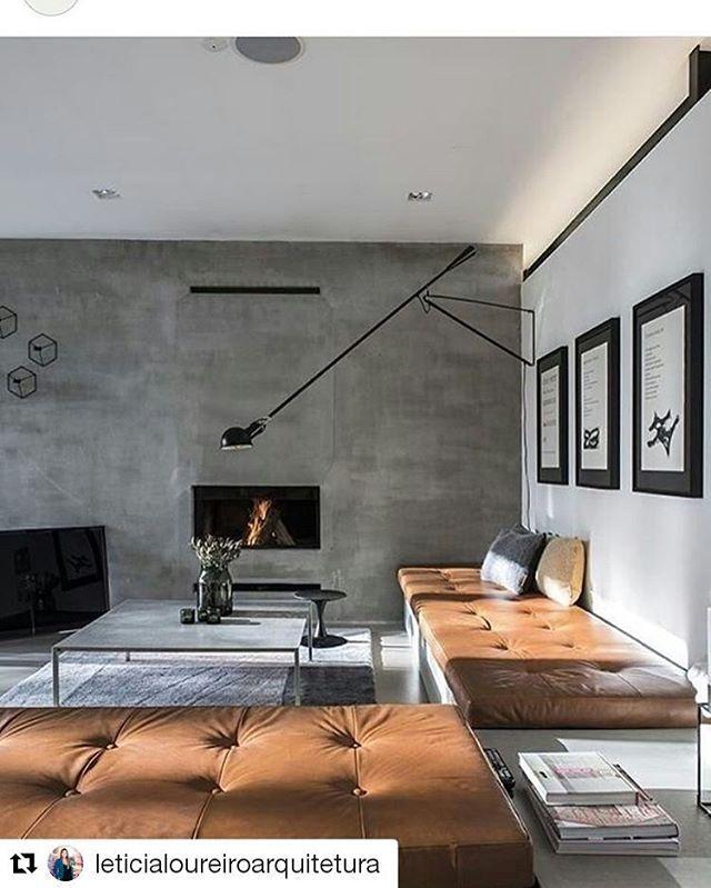 #Repost @leticialoureiroarquitetura with @repostapp ・・・ Referência do dia: lareira para curtir o friozinho!!  #interior #space #home #homedecor #livingroom #setup #Designspiration #design #creativespace #creative #designer #frame #concept #building #decoration #graphicdesigner #ideas #modernarchitecture #flatlay #flatlayapp #flatlays www.theflatlay.com