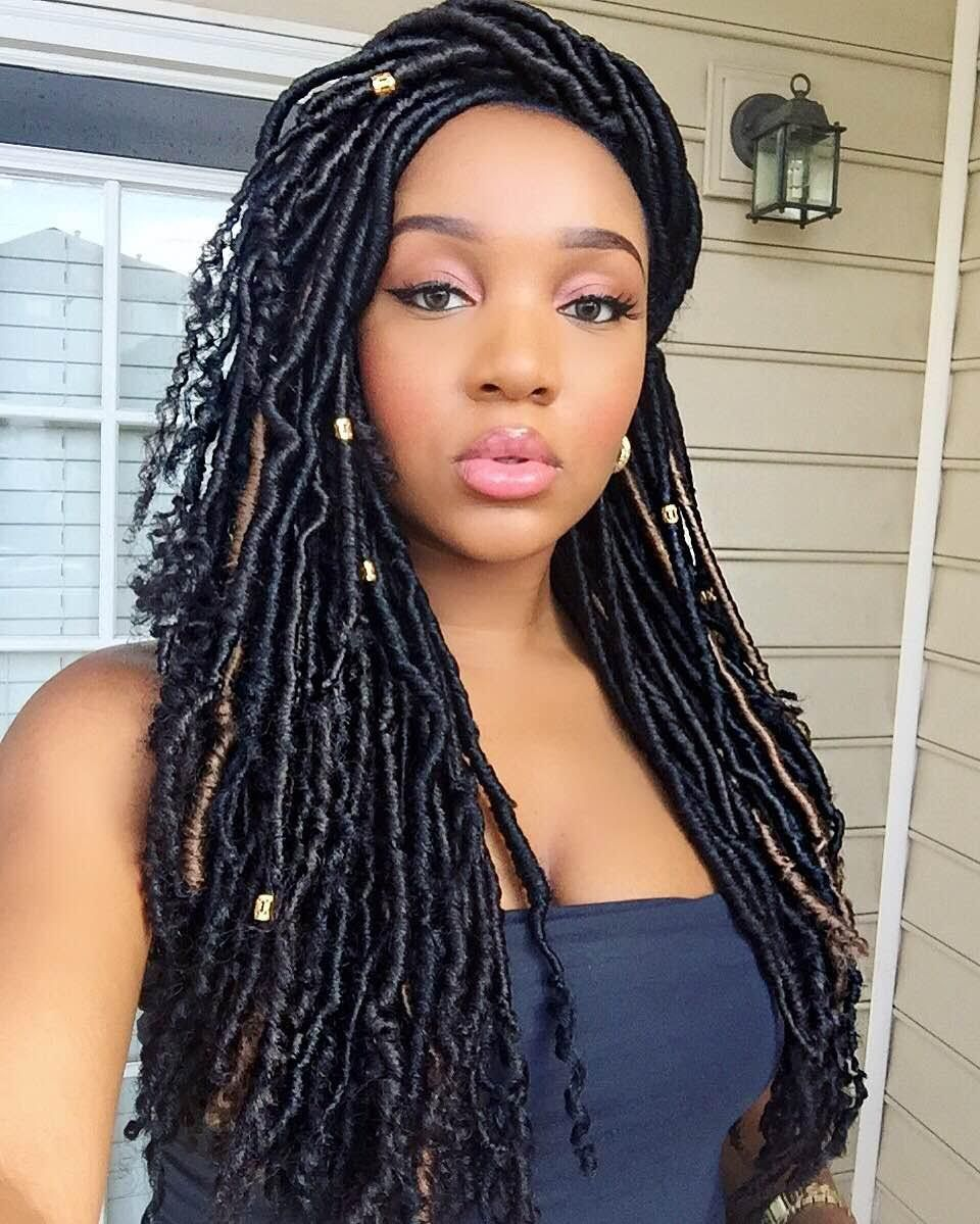 Nubian Goddess CROCHET faux Locs (Bundle Deals) | Hairstyles | Pinterest