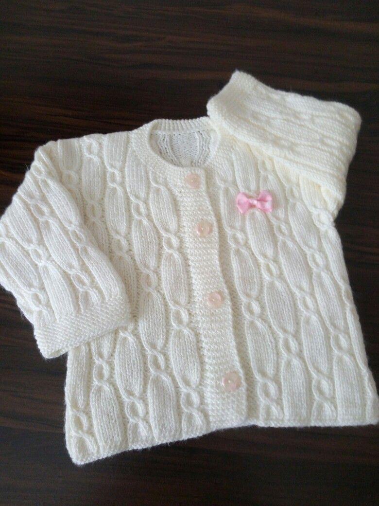 bebek ceketi | Bebek kazakları | Pinterest | Tejido, Bebe y Dos agujas