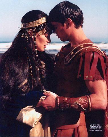 Xena and Caesar.