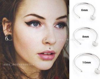Cute Button Noses Women Google Search Face Piercings Facial