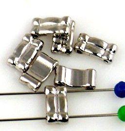 7 small filler spacer bar slider beads 9386