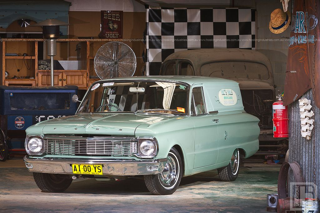 Shannon \'Walt\' Robertshaw\'s 1965 Ford XP Delivery (Australia ...