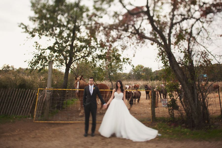 Jason And Diane Did It Right With Their Absolutely Gorgeous Queens County Farm Museum Wedding
