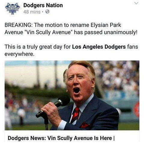THINK BLUE: Congratulations LA Dodgers! #larams #ramsnation #espn