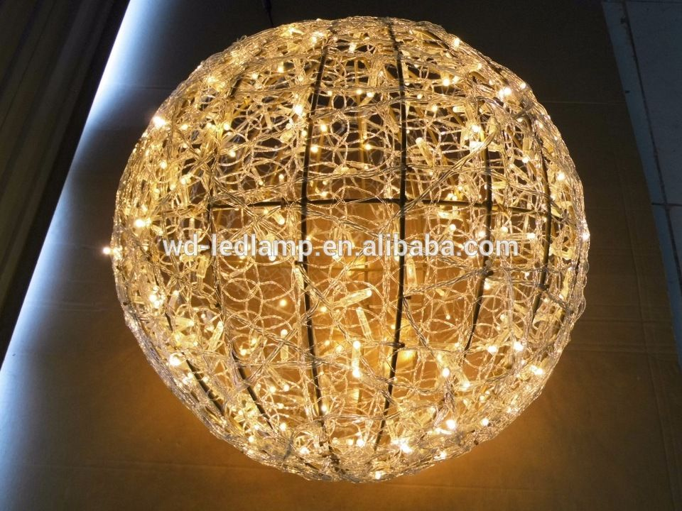 motif light ball light led round ball christmas light 120120cm