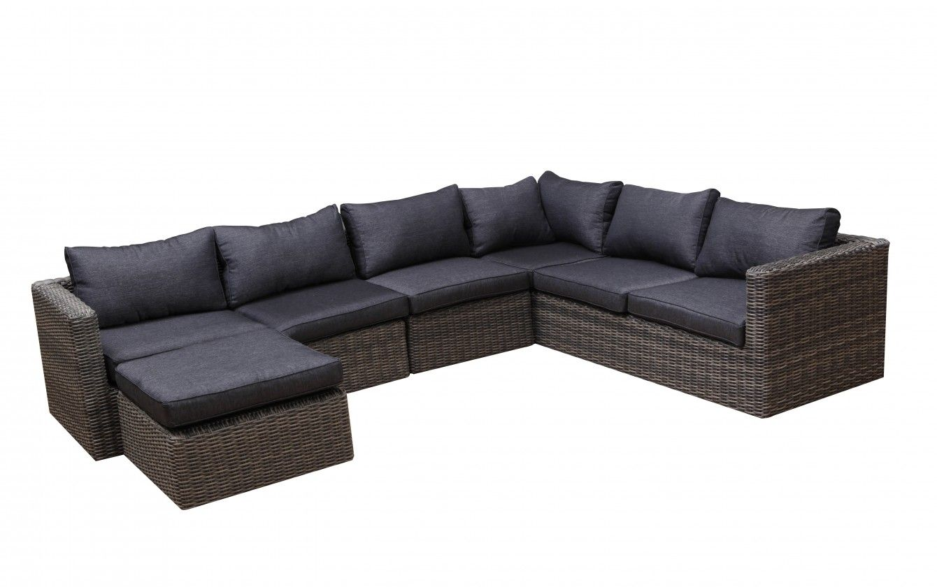 Contempo Modular Outdoor Lounge 6 Seater Available At Drovers