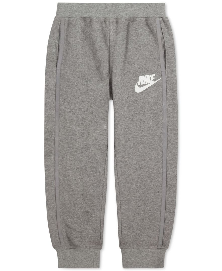 1d41f8c4 Nike Little Boys' Ribbed-Cuff Jogger Sweatpants | Jay❤ | Cuffed ...