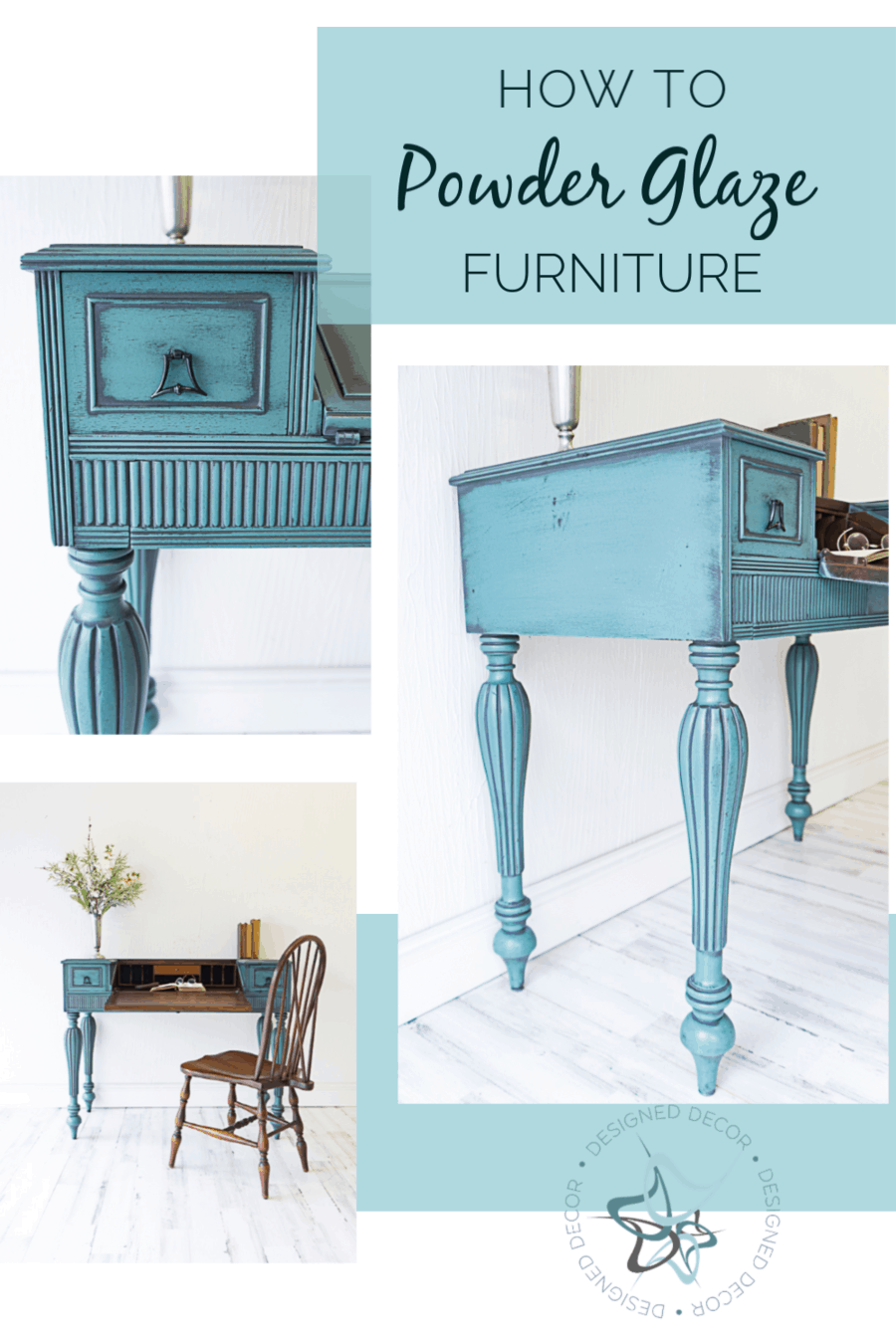 Powder Glazing adds dimension and beauty to furniture or cabinets without the frustrations of wiping the wet glaze off the carving details or insets. #chalkpaintedfurniture #paintedfurniture #onlinepaintworkshops #diytutorials #furnituremakeover #furniturepainting #diyfurniture #paintingworkshops #furniturepaintingclasses #furniturepaintingtutorial #furnitureglazing #glazedfurniture~Master this technique with the easy step-by-step video teachings ~Use any paint color and paint brands ~Bonus ...
