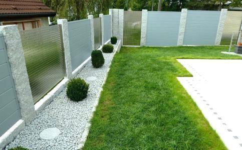 Bildergebnis für sichtschutz garten granit Gartenteiler