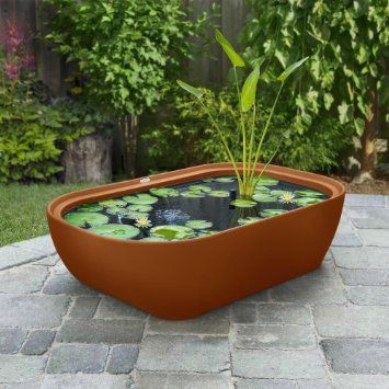 Amazon Com Garden365 Water Feature Planter Kit Graphite 400 x 300