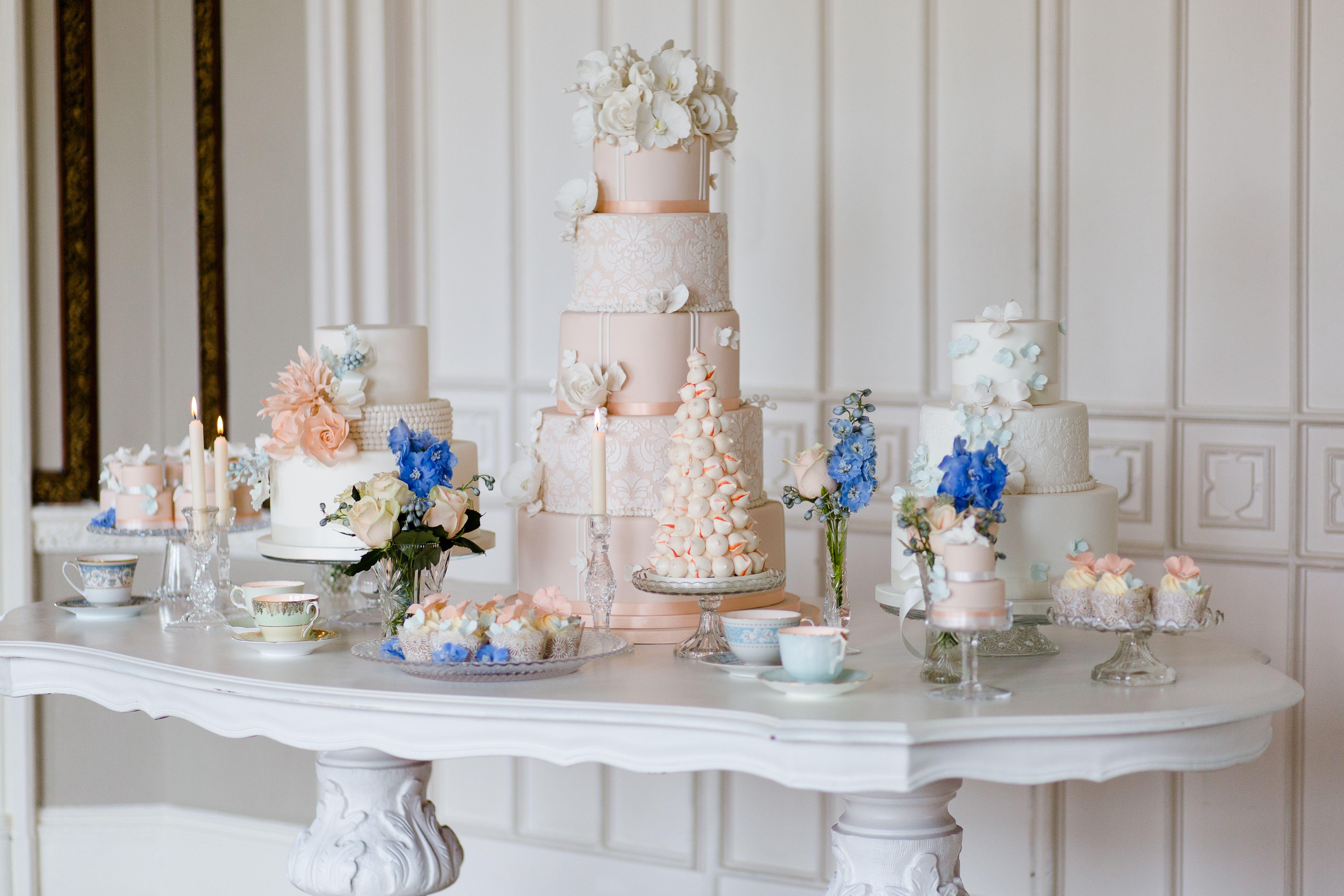 Classic dessert table by cakes by krishanthi image eddie judd