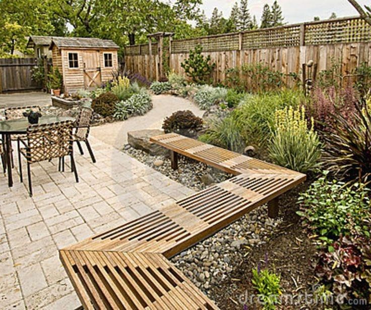 Desert Garden Ideas: Beautifully Landscape Backyard Photo