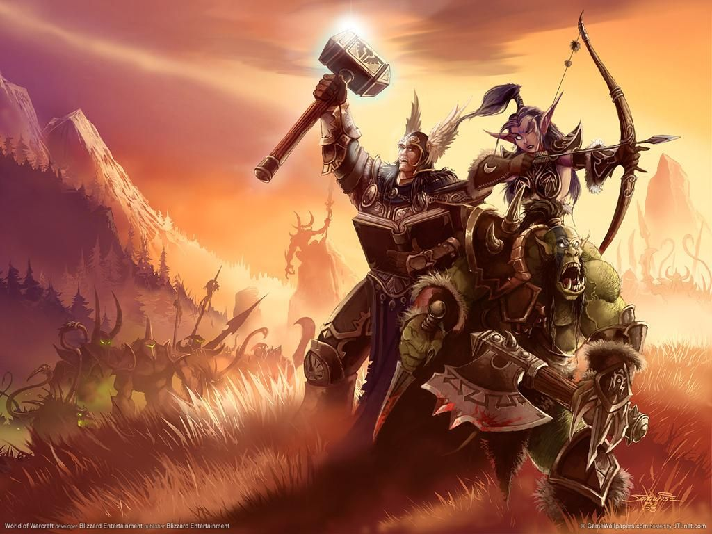 World Of Warcraft Jpg 1024 768 World Of Warcraft Wallpaper Warriors Wallpaper World Of Warcraft