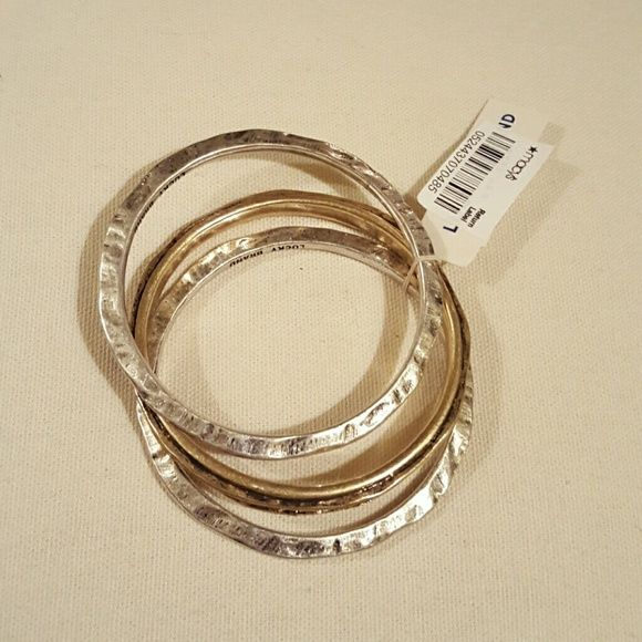 NWT Lucky Brand Bangle Bracelets New with tags, just not something I will wear Lucky Brand Jewelry Bracelets