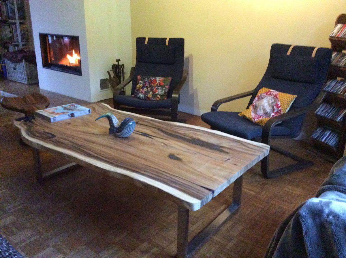 tables - Pied De Table En Bois Massif