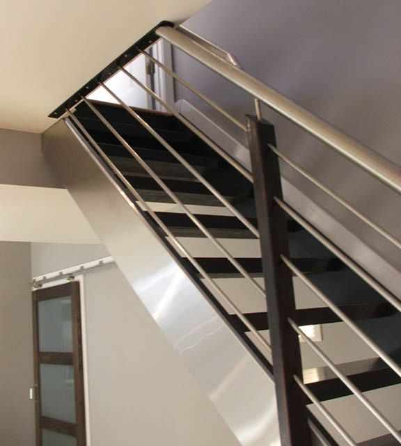 Interior Stair Railing Banisters Ryans Condo Pinterest - Contemporary stair railing banister