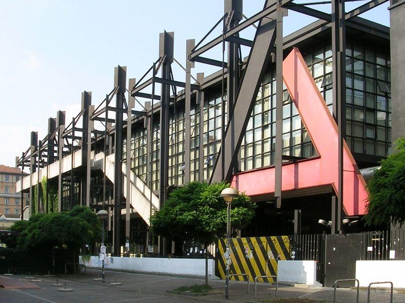 Ampliamento sede del politecnico di milano milano italia for Interior design politecnico di milano