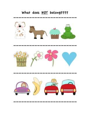 What does NOT belong? Visual Activity from Speech in CT on ...