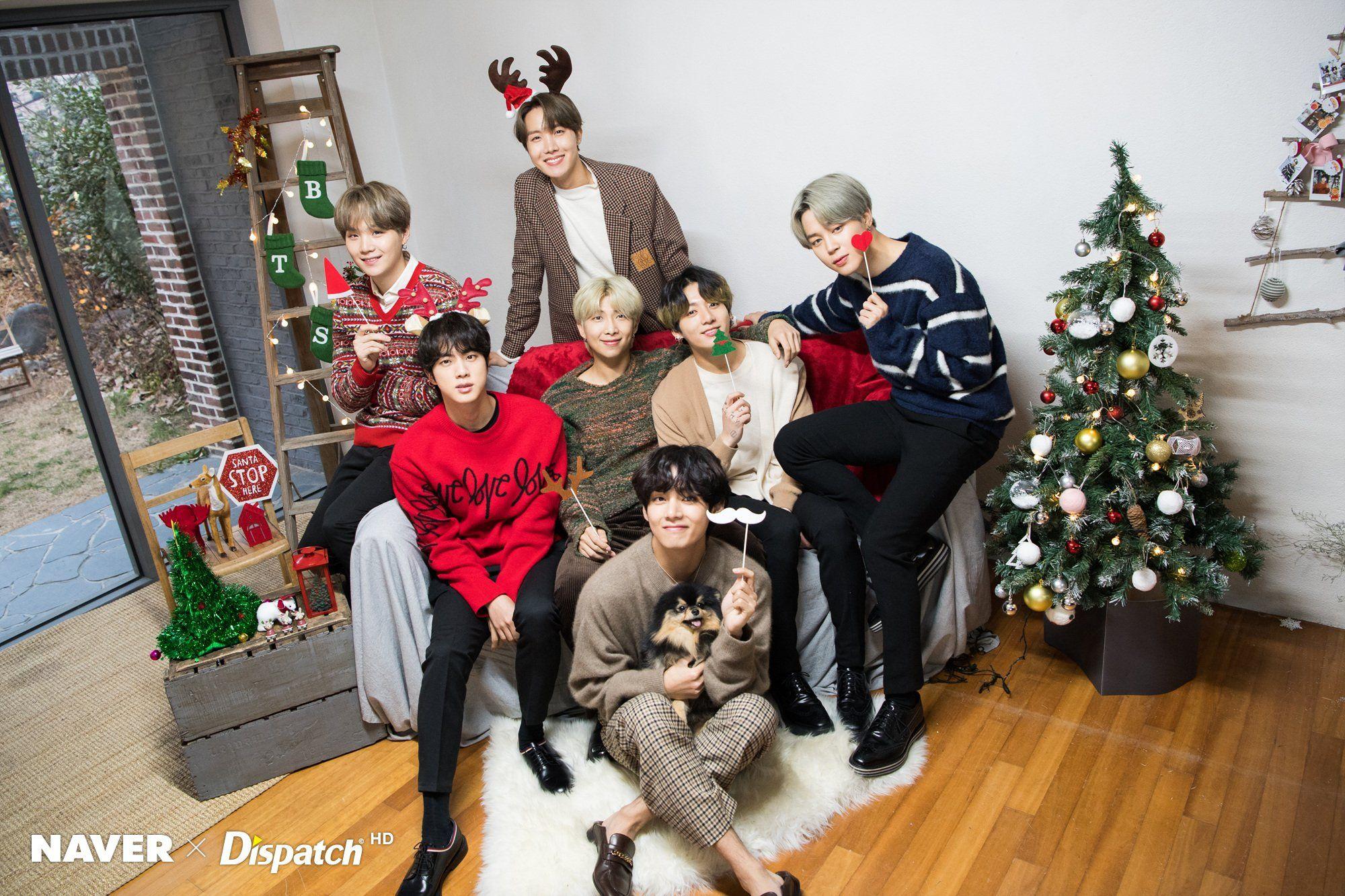 Bts Christmas 2020 BTS SQUAD ⁷ 💙 on di 2020 | Christmas carol, Daejeon, Bts