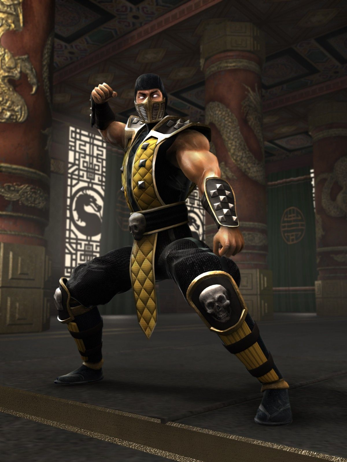 Scorpion Hanzo Hasashi Mortal Kombat Shaolin Monks Mortal Kombat Scorpion Mortal Kombat
