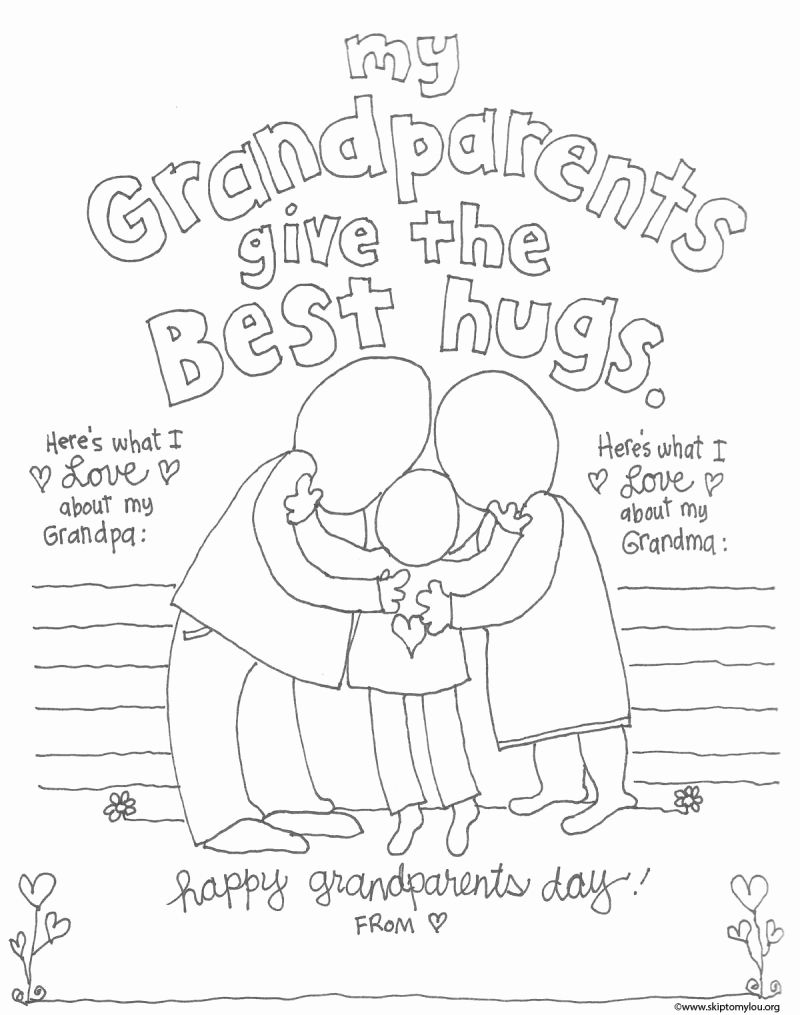 Grand Parents Day Coloring Pages Heart For Kids In 2020 Happy Grandparents Day Grandparents Day Activities Grandparents Day