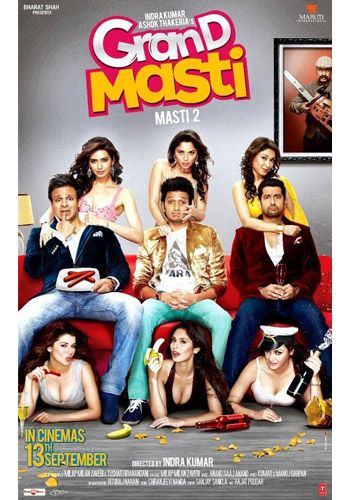 Watch Grand Masti 2013 Hindi Movie Hdrip X264 400mb Online Free