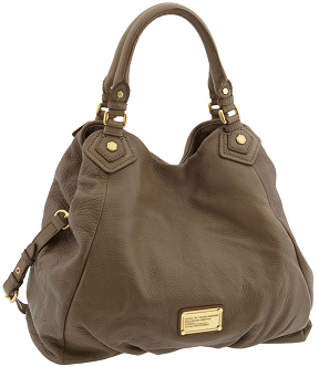 Classic Q Francesca Leather Shopper - my absolute FAVE Marc by Marc Jacobs bag. This color is dirty martini.