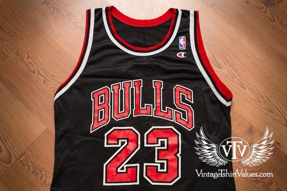 Michael Jordan 23 Champion Jersey Vintage 90s Chicago Bulls Sport T Shirt Jordan Jersey Jersey