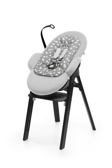 Steps Bouncer Greige Chaise Haute Transat Bebe Transat