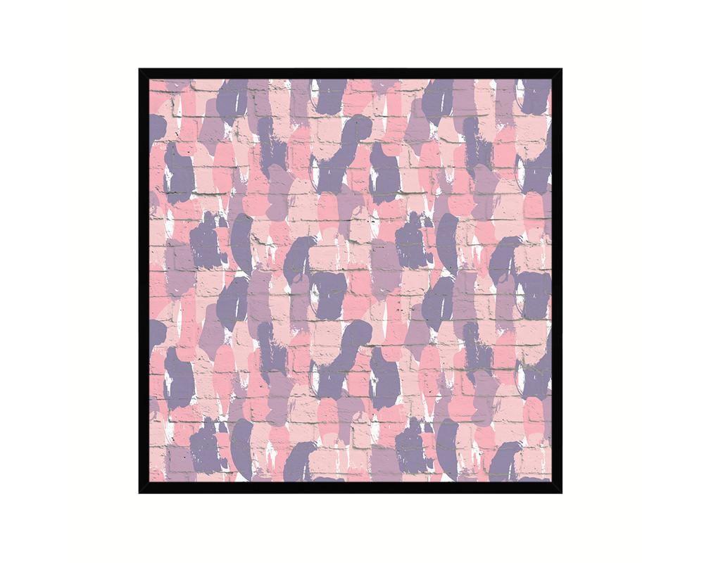 Photo of Abstract Pink Artwork Wood Frame Gifts Modern Wall Decor Art Prints – 10 x 10